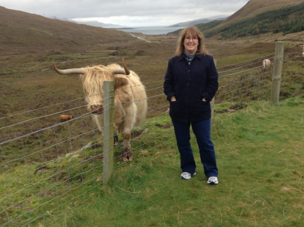 Barb and the hairy cow